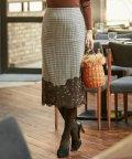 iCB/Lace Pattern Combo スカート/501440137