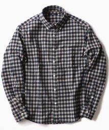 SHIPS MEN/SC: フェザー ギンガムチェック ボタンダウン ネルシャツ2/501440201