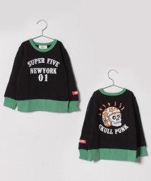 SUPERFIVE/プリントトレーナー/501416550