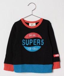 SUPERFIVE/プリントトレーナー/501416557