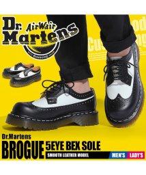 DR.MARTENS/3989 5アイ ブローグシューズ ベックスソール/501417298