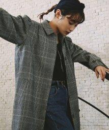 ViS/【高橋愛×ViS】チェック柄コート/501440196