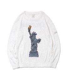 gelato pique/'スムーズィー'New York ジャガードプルオーバー/501441340
