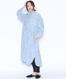 LASUD/【ラディエイト RADIATE】コーデュロイ シャツワンピース/501417054