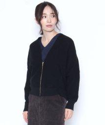 LASUD/【スール soeur7】ホールガーメント ジップアップ ニットジャケット/501417064