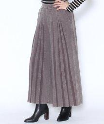 LASUD/【スール soeur7】コーデュロイ プリーツ バギーパンツ/501417075