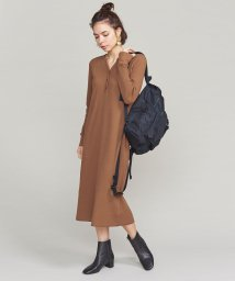 BEAUTY&YOUTH UNITED ARROWS/BY ワッフルヘンリーネックワンピース/501442311