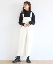 coen/SMITH(スミス)オーバーオール8分丈パンツ (オールインワン/サロペット)/501442350