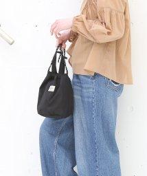 coen/【リバーシブル】ワッシャー巾着バッグ/501442351
