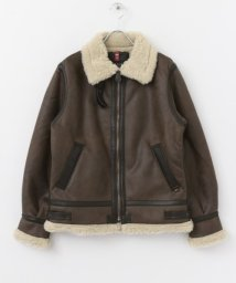 URBAN RESEARCH Sonny Label/ALPHA INDUSTRIES B-3 FAKE MOUTON/501442618