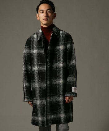 Harris Tweed Split Raglan Coat 18020300200230