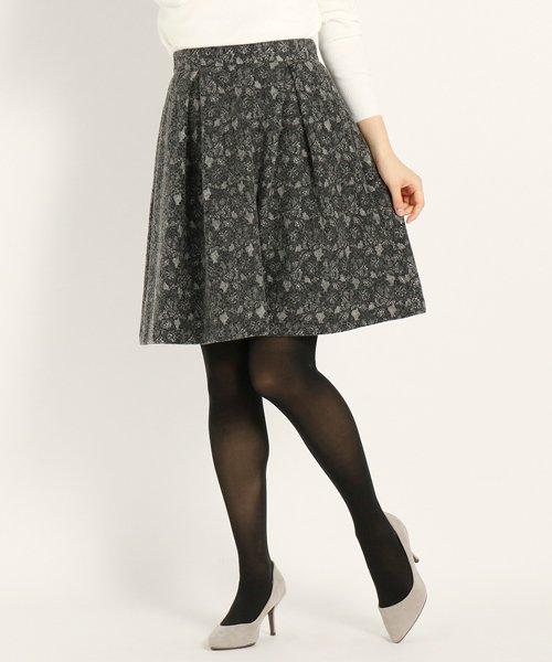 UNIVERVAL MUSE(ユニバーバル ミューズ)/DVレースボンディング スカート/8674207