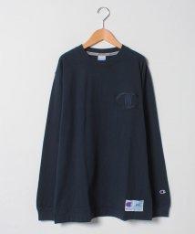 MARUKAWA/大きいサイズ【Champion】長袖Tシャツ ビッグワッペン/501419868