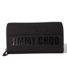 JIMMY CHOO/【JIMMYCHOO】ラウンドファスナー財布 JIMMY CHOO CANVAS/501422441
