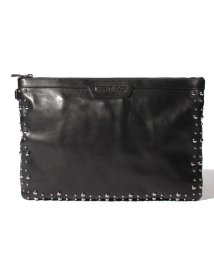 JIMMY CHOO/【JIMMYCHOO】クラッチバッグ LEATHER WITH PEARL STUDS/501422443