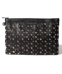 JIMMY CHOO/【JIMMYCHOO】クラッチバッグ LEATHER W/MULTI METAL STARS/501422445