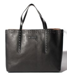 JIMMY CHOO/【JIMMYCHOO】トートバッグ  LEATHER WITH PEARL STUDS/501422446