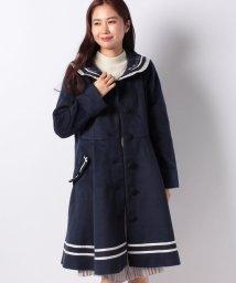 axes femme/刺繍セーラーカラーコート/501434244
