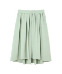 NATURAL BEAUTY LARGE/◆大きいサイズ◆タックギャザーふんわりカラースカート/501443066