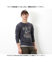 MAC HOUSE(men)/T-GRAPHICS プリントTシャツ EJ185-MC116/501444158