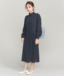 BEAUTY&YOUTH UNITED ARROWS/BY ツイルハイネックタックワンピース/501444484