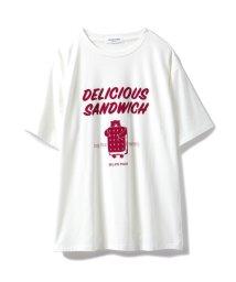 GELATO PIQUE HOMME/【GELATO PIQUE HOMME】アイスサンドウィッチワンポイントTシャツ/501444499