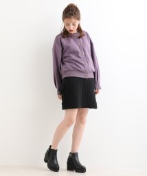 MAJESTIC LEGON OUTLET/∞レースアップニットスカート/501445120