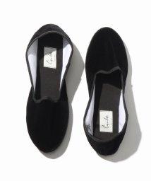 EDIFICE/Capulette / カプレット Velvet venetian shoes/501445643