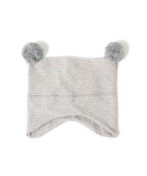 こどもビームス/1+in the family / CIRO bonnet ボンボン付き スクエア ウインター キャップ 18 (3ヶ月~1才)/501445743