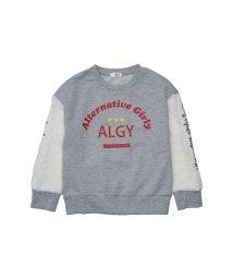 ALGY/ニコ☆プチ12月号掲載 | ボアスリーブトレーナー/501374629