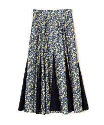 PROPORTION BODY DRESSING/《EDIT COLOGNE》チュールドッキングミニフラワースカート/501386878