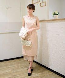 Eimy Peral/【ドレスライン】3wayチュールスカート付きタイトドレス/501440239