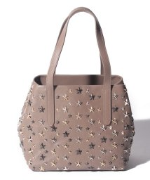 JIMMY CHOO/【JIMMYCHOO】レディース トートバッグ LEATHER W MULTI METAL STARS/501441495