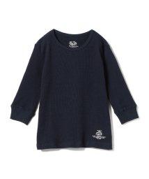こどもビームス/SMOOTHY × FRUIT OF THE LOOM /サーマル 7分袖 Tシャツ18 (90~140cm)/501447178