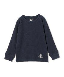 こどもビームス/SMOOTHY × FRUIT OF THE LOOM / サーマル ラグラン スリーブ Tシャツ 18 (90~140cm)/501447179