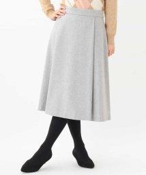 OFUON/タッキング台形スカート/501411505