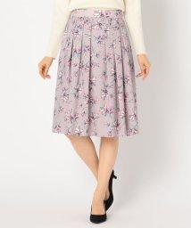 NOLLEY'S sophi/フラワープリントスカート/501440978