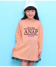 ANAP KIDS/裾チュールワンピース/501441051
