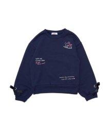 ALGY/袖りぼんトレーナー/501446066
