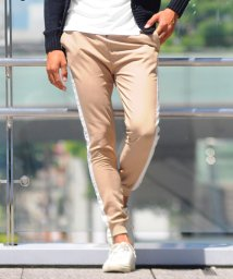 SPADE/ジョガーパンツ ラインパンツ ライン サイドライン スラックス メンズ スキニー スリム スーツ生地 ジョガー メンズ スリム 韓国 ファッション イージーパン/501446662