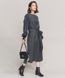 BEAUTY&YOUTH UNITED ARROWS/BY ストライプベルトワンピース/501447580