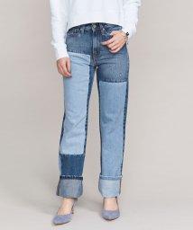 BEAUTY&YOUTH UNITED ARROWS/<Calvin Klein Jeans>パッチワークストレートデニムパンツ/501447581