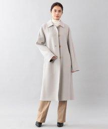 SANYO COAT/<DoubleFaced Coat>ウールリバーシングルバルマカーンコート/501447763