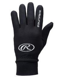 Rawlings/ローリングス/ハイパーストレッチフリースニット手袋(滑りとめ付)/501448231
