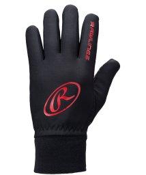 Rawlings/ローリングス/ハイパーストレッチフリースニット手袋(滑りとめ付)/501448232