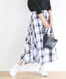 coen/【19SS新作・Market】チェックマキシスカート/501449492