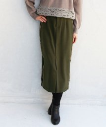 REAL CUBE/Lupino サイドラインタイトスカート/501449818
