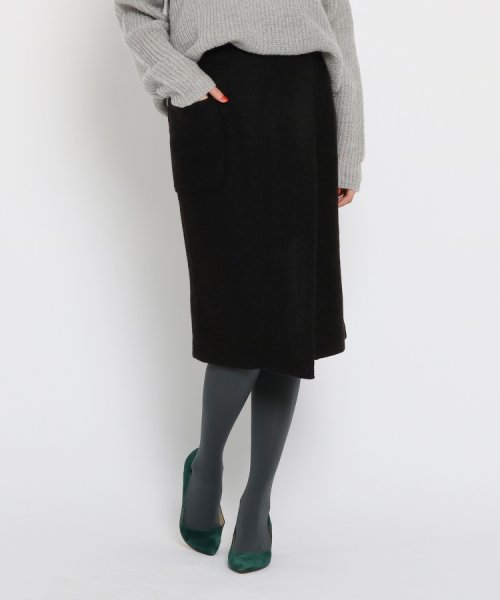 AG by aquagirl(AG バイ アクアガール)/【WEB限定プライス】【Lサイズあり】ループヤーンタイトスカート/201901C1276001