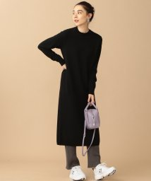 BEAUTY&YOUTH UNITED ARROWS/BY∴ ウールスリットニットワンピース/501451084