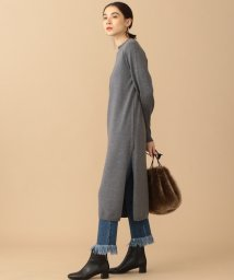 BEAUTY&YOUTH UNITED ARROWS/【予約】BY ウールスリットニットワンピース/501451084
